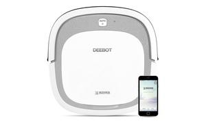 Ecovacs Deebot Slim2 Robotic Auto-Charging Vacuum with Smartphone App