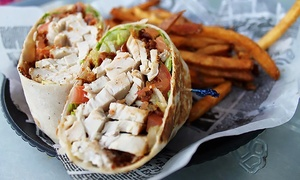 Lazy Brew Bar and Grill: Bar Food and Drinks for Two or Four at Lazy Brew Bar and Grill (Up to 45% Off)