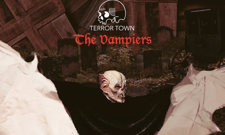 General-Admission Ticket to Terror Town for One, Two, or Four at All Hallows' Eve (Up to 41% Off)