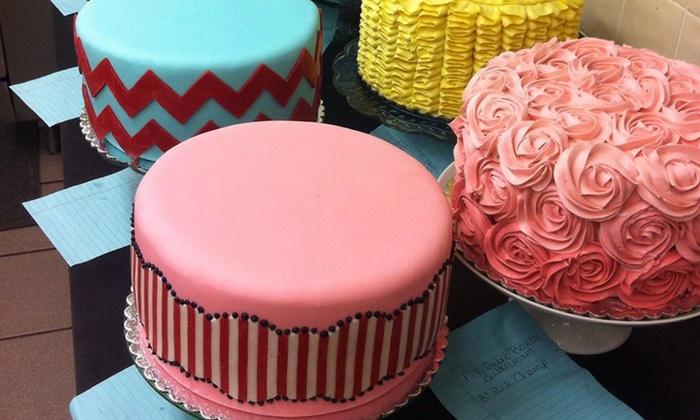 Twelve Cakes Bakery & Scottsdale Cakery - Phoenix:  $29 for One Eight-Inch Round Signature Cake from Twelve Cakes Bakery & Scottsdale Cakery $48 Value