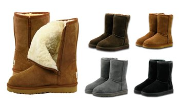 Mid Zip-Up Water-Resistant UGG