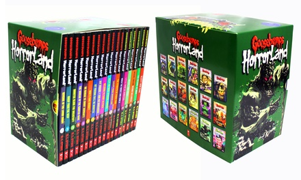 Scholastic Goosebumps HorrorLand 18 Books Series Collection Set