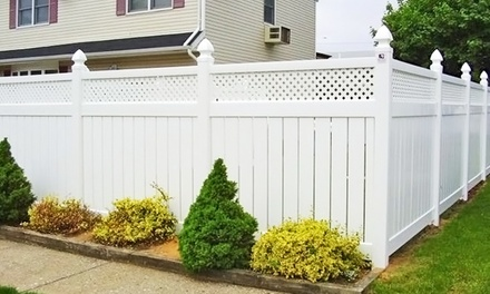 $1,920 for 80 Feet of Vinyl Fencing from National Metal Industries ($3,840 Value)