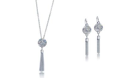 Aurora Borealis sieraden versierd met kristallen