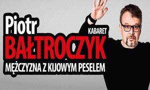 """GROUPON POLAND TICKET_eventySTAO 2: 39,99 zł: bilet na kabaret """"Druga 50-tka Piotra Bałtroczyka"""" – 3 lokalizacje (zamiast 65 zł)"""