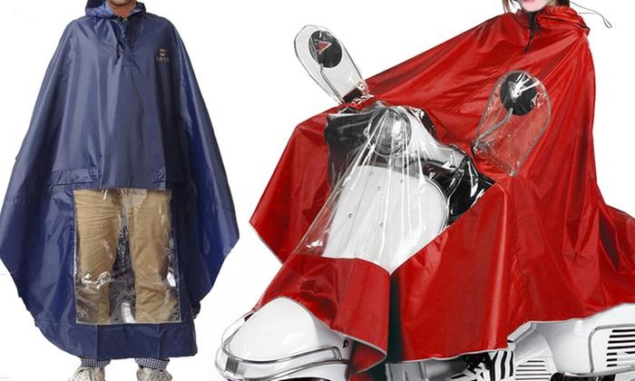 Mantella antivento, pioggia per moto