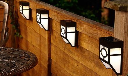 Set di lampade ad energia solare da esterno resistenti all'acqua