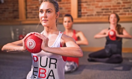 5 or 10-Class Pack at Pure Barre (Up to 66% Off)