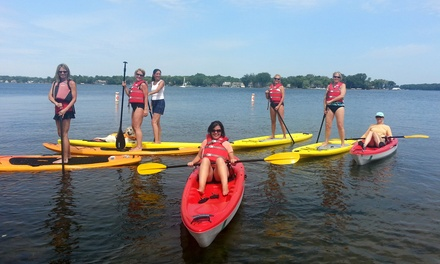 Paddleboard or Kayak Rental from Tommy's Tonka Trolley & Excelsior-Lake Minnetonka Kayak  (Up to 48%Off)