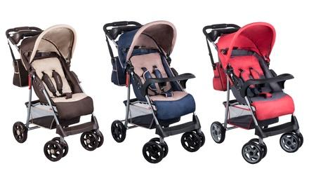 Carrito de paseo para bebés hasta 15 kg de peso