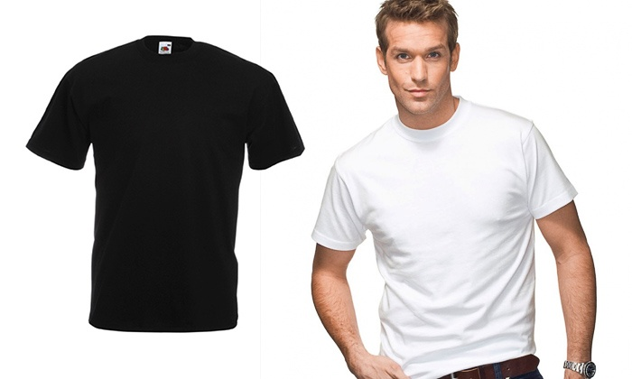Emirates Apparel: 12 Packs Fruit of The Loom Men's Valueweight T-shirts  starting from ...