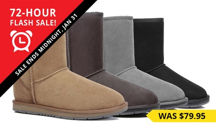 $69.95for a Pair of Unisex WaterResistant 3/4 UGG Boots Don't Pay $259