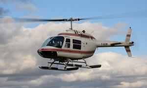 Heli pro passion: Dune du Pilat ou Vignobles avec un vol en hélicoptère, option dégustation dès 59 € avec Héli-Pro-Passion