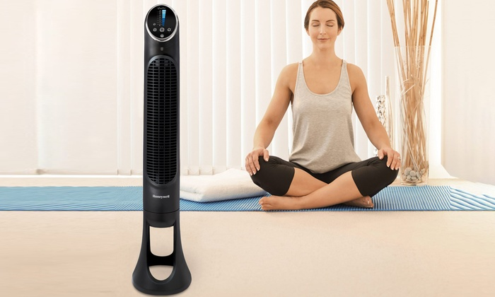 Tower Fan with Remote Control | Groupon