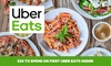 Uber Eats: $20 Off First Order