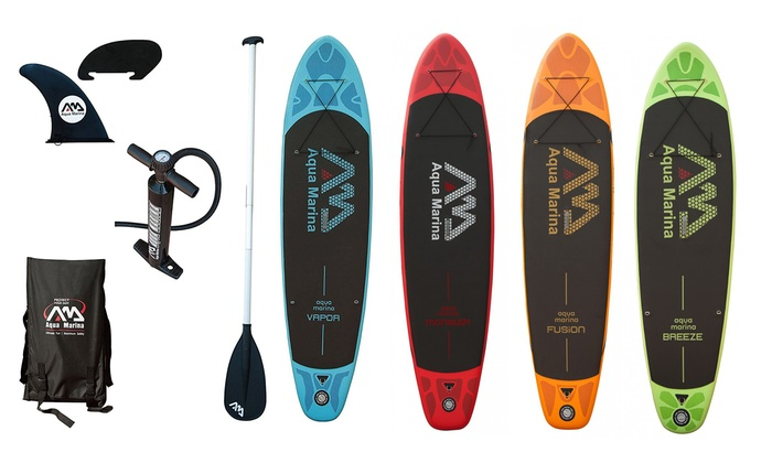 stand up paddle gonflable aqua marina groupon shopping. Black Bedroom Furniture Sets. Home Design Ideas
