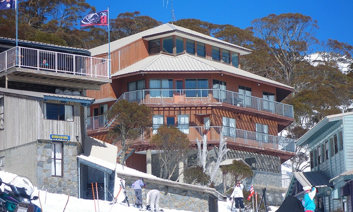 Lucy Lodge-Charlotte Pass - Charlotte Pass: Charlotte Ski Pass: Up to 7 Nights for One Person with Breakfast, Dinner and Transfers at Lucy Lodge-Charlotte Pass