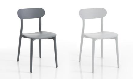 Set di 4 sedie Stoccolma