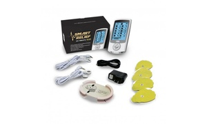 Smart Relief Ultimate 1020 TENS & EMS Unit for Pain Relief Therapy