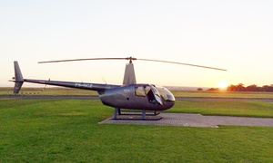 Discovery Aviation: Stellenbosch Helicopter Flight with Wine Tasting for R1 775 for Two with Discovery Aviation (50% Off)