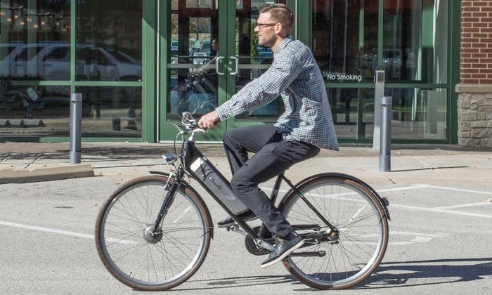 Benelli Classica 28 E-Bike Cruiser with Pedal Assist