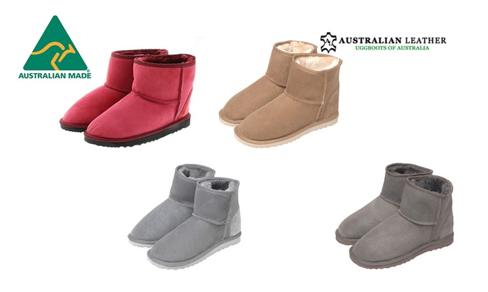 Australian Leather: $69 for a Pair of Australian Leather Mini UGG Boots (Don't Pay $199)