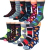 Premium Collections Men's Dress Socks (12-Pack)