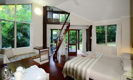 Cape Tribulation: 1 to 3Night Garden Loft Stay for Two or Four at Ferntree Rainforest Lodge