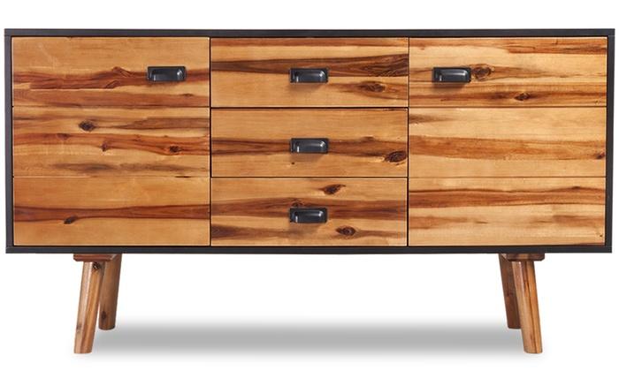 acacia wood bedroom set