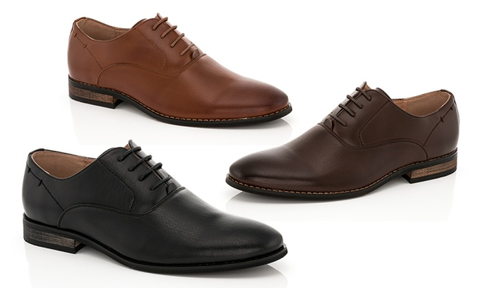 Franco Vanucci Men's Lace-Up Dress Shoes