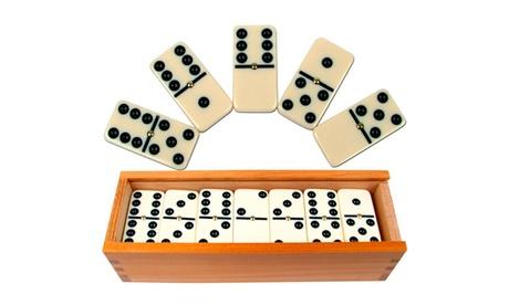 Premium Dominoes: Double-Six or Double-Nine (Set of 28 or 55) 5c7e6284-d422-11e6-9ed0-00259060b5da