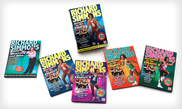 """Richard Simmons """"Sweatin' to the Oldies"""": $25 for the Richard Simmons """"Sweatin' to the Oldies"""" DVD Set ($49.95 List Price). Free Shipping and Free Returns."""