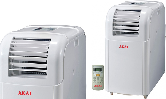AKAI ACP9100 Portable Air Conditioner With Free Delivery for £239