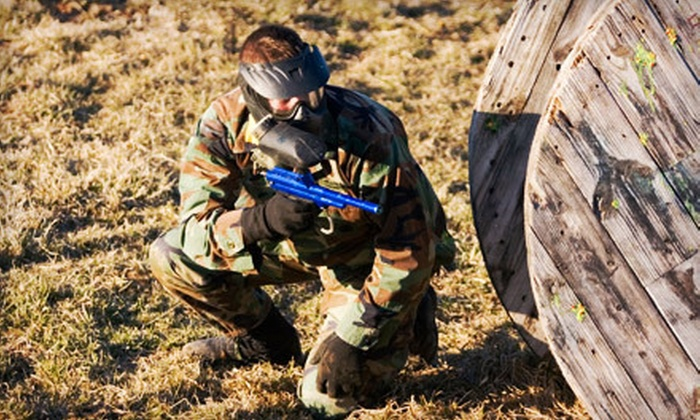 Jaegers Paintball Complex - Jaegers Paintball Complex: 100-Round Paintball Game with Equipment for Two or Four at Jaegers Paintball Complex (Up to 83% Off)