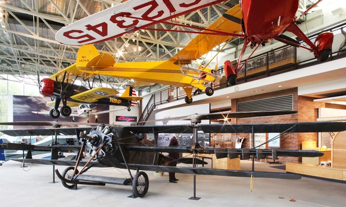 College Park Aviation Museum - College Park: Visit to College Park Aviation Museum (50% Off). Three Options Available.