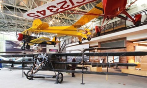 College Park Aviation Museum: Visit to College Park Aviation Museum (50% Off). Three Options Available.