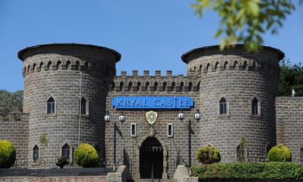 Ballarat: One- or Two-Night Adventure Park Stay for Up to Four with Wine and Late Check-Out at Kryal Castle, Victoria