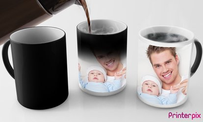 image for One or Two Photo or Magic Mugs from Printerpix (Up to 34% Off)