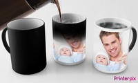 Up to Three Personalised Photo or Magic Mugs from Printerpix (Up to 53% Off)