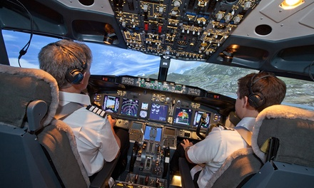 30- or 60-Minute Flight Simulator Experience at Flight Experience London (Up to 72% Off)