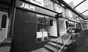 Jam Hairdressing: Ladies Cut and Finish (£20) with Optional Half Head of Highlights (£40) by Jam Hairdressing (Up to 51% Off)