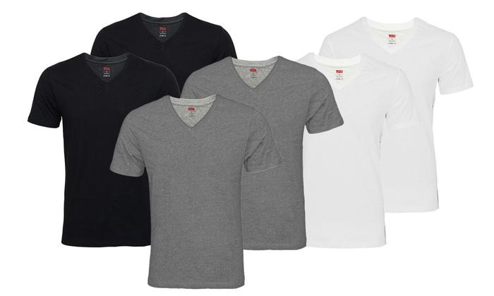 0096b3403a5f7 Pack t-shirts pour homme Levi s   Groupon
