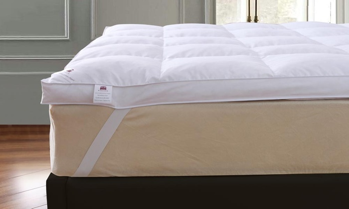 Goose Feather and Down 5cm Mattress Topper for £17.99