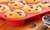 Nonstick Silicone Mini Cupcake Pan (12-Cup): Nonstick Silicone Mini Cupcake Pan (12-Cup)
