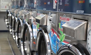 Blue Bubble Express Laundry: $10 for $20 Worth of Self-Service Laundromat Services at Blue Bubble Express Laundry