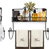 Sorbus Wall-Mounted Kitchen Rack with Paper Towel Holder