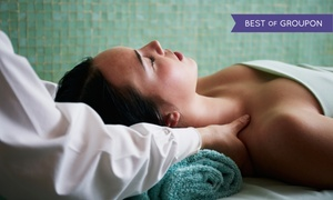 The Wellness Center of London Square: Massage or Deep Pore-Cleansing Facial at The Wellness Center of London Square (Up to 62% Off)