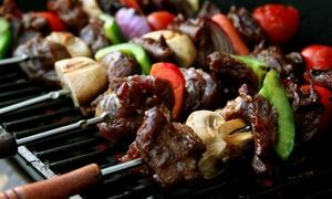 N' Food: Driegangenmenu met Armeense BBQ bij N' Food in Kortrijk (vanaf 2 pers.)