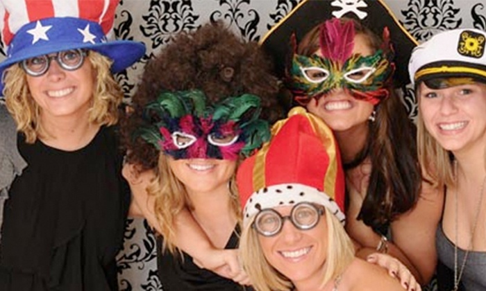 Econo Photo Booth Rentals - Orange County: Three- or Five-Hour Photo-Booth Rental with Unlimited Prints from Econo Photo Booth Rentals (Up to 64% Off)