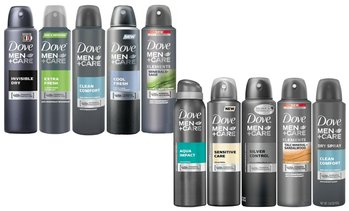 Dove Antiperspirant Spray Deodorant For Men (10-Pack; 150ml)